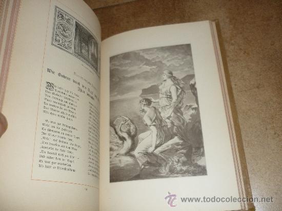 Libros antiguos: DAS GUDRUN LIED DAS DEUTFCHE HAUS VON Emil Engelmann STUTTGART 1886 - Foto 8 - 31224362
