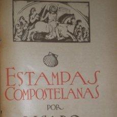 Libros antiguos: ESTAMPAS COMPOSTELANAS.. Lote 31244604