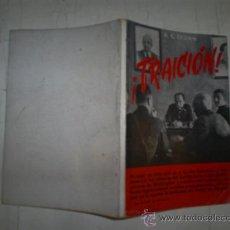 Libros antiguos: ¡TRAICIÓN! H. C. CROWN RM53972. Lote 31331730