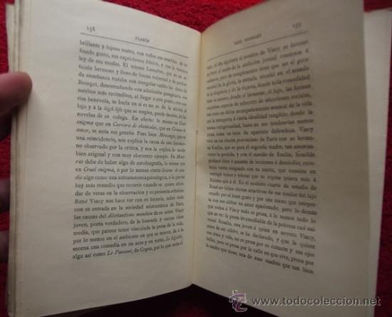 Libros antiguos: MEZCLILLA (CRÍTICA Y SÁTIRA) - LEOPOLDO ALAS CLARÍN (1889, 1ª EDICIÓN) - Foto 4 - 31351673