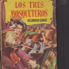 Libros antiguos: LIBRO COLECCION HISTORIAS LOS TRES MOSQUETEROS ( DIBUJA AMBROS ). Lote 31377626