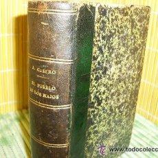Libros antiguos - ANTONIO CASERO / EL PUEBLO DE LOS MAJOS .ED. SÁENZ DE JUBERA 1912.1ª EDICIÓN.PRÓL. JACINTO BENAVENTE - 31382818