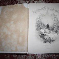 Libros antiguos: 0780- 'COSTUMBRES DEL UNIVERSO Ó DESCRIPCION Y PINTURA DE LA FISONOMÍA PECULIAR' LIB. ALOU 1865 . Lote 31454793
