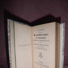 Libros antiguos: HISTOIRE DE BUENOS-AYRES DU PARAGUAY - FERDINAND DENIS - AÑO 1827 - EN PIEL.. Lote 31499674