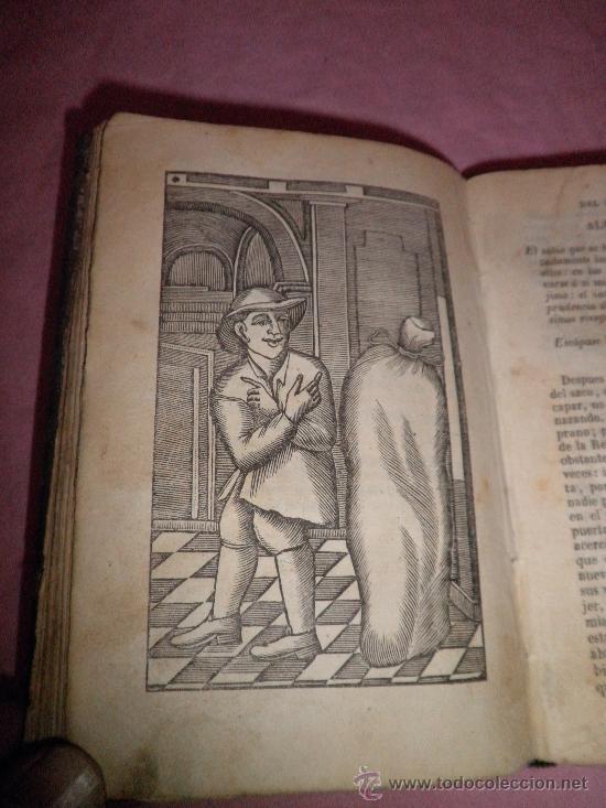 Libros antiguos: HISTORIA DE LA VIDA Y ASTUSIAS DEL RUSTICO BERTOLDO - AÑO 1856 - GRABADOS XILOGRAFICOS. - Foto 4 - 31532102