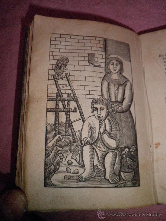 Libros antiguos: HISTORIA DE LA VIDA Y ASTUSIAS DEL RUSTICO BERTOLDO - AÑO 1856 - GRABADOS XILOGRAFICOS. - Foto 5 - 31532102