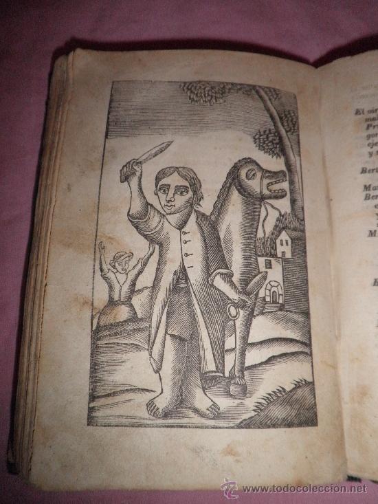 Libros antiguos: HISTORIA DE LA VIDA Y ASTUSIAS DEL RUSTICO BERTOLDO - AÑO 1856 - GRABADOS XILOGRAFICOS. - Foto 8 - 31532102
