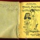 Libros antiguos: LIBRO MANUAL PRACTICO Y RECETARIO DE FOTOGRAFIA , 1908 ,ORIGINAL. Lote 31562957