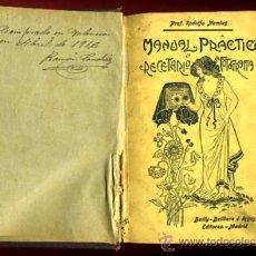 Libri antichi: LIBRO MANUAL PRACTICO Y RECETARIO DE FOTOGRAFIA , 1908 ,ORIGINAL. Lote 31562957