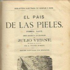 Libros antiguos: VOLUMEN FACTICIO CON OBRAS DE JULIO VERNE EN LA EDICIÓN ILUSTRADA DE GASPAR Y ROIG - 1876. Lote 31639211