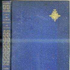 Libros antiguos: ANUARI 1916 DE LA JUNTA DE CIÈNCIES NATURALS DE BARCELONA. Lote 31639233