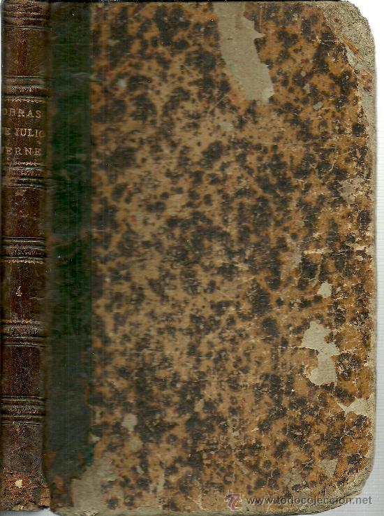 Libros antiguos: Volumen facticio con obras de Julio Verne en la edición ilustrada de Gaspar y Roig - 1876 - Foto 2 - 31639211