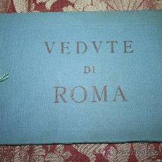 Libros antiguos: 1954- PRECIOSO ALBUM 'VEDUTE DI ROMA' - 39 PÁGINAS ILUSTRADAS DE ROMA. Lote 31663815