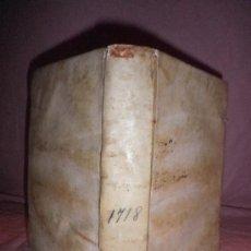 Libros antiguos: MANUAL DEL ORDEN DE LA HOSPITALIDAD DE NUESTRO PADRE S.JUAN DE DIOS - AGUSTIN DE VICTORIA - AÑO 1718. Lote 31667174