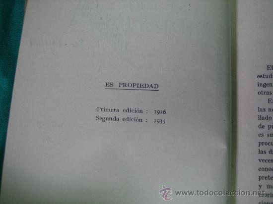 Libros antiguos: Hidraulica por Forchheiner 1935 - Foto 3 - 31712200