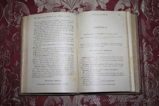 Libros antiguos: 1171- 'MANUAL DEL ARTILLERO Y DEL ASPIRANTE Á CABO' IMPR. DE EDUARDO ARIAS MADRID 1915 - Foto 4 - 31765813