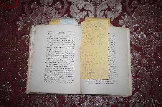 1526- INTERESANTE LIBRO REPLETO DE APUNTES DE PERE PUIG QUINTANA 'CAMBÓ' POR JOSEP PLA (Libros Antiguos, Raros y Curiosos - Ciencias, Manuales y Oficios - Otros)