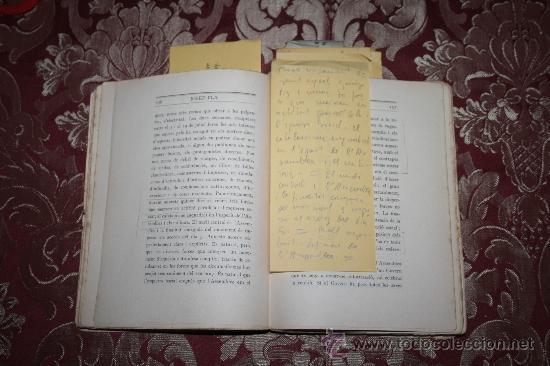 Libros antiguos: 1526- INTERESANTE LIBRO REPLETO DE APUNTES DE PERE PUIG QUINTANA 'CAMBÓ' POR JOSEP PLA - Foto 5 - 31765865