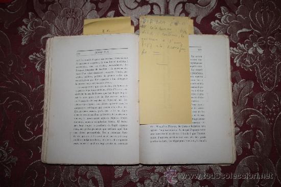 Libros antiguos: 1526- INTERESANTE LIBRO REPLETO DE APUNTES DE PERE PUIG QUINTANA 'CAMBÓ' POR JOSEP PLA - Foto 6 - 31765865