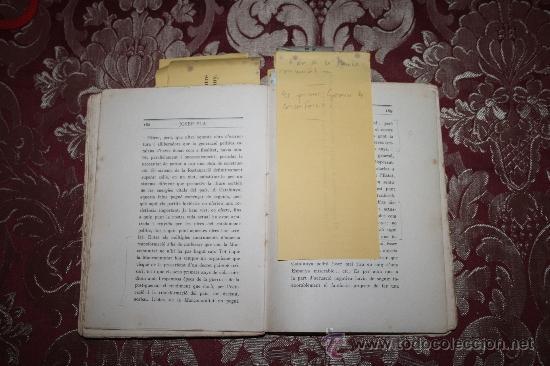 Libros antiguos: 1526- INTERESANTE LIBRO REPLETO DE APUNTES DE PERE PUIG QUINTANA 'CAMBÓ' POR JOSEP PLA - Foto 7 - 31765865