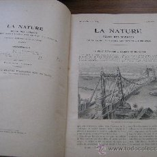 Libros antiguos: LA NATURE REVUE DES SCIENCES - SEGUNDO SEMESTRE 1906 - LA NATURALEZA REVISTA DE CIENCIAS. Lote 31774828