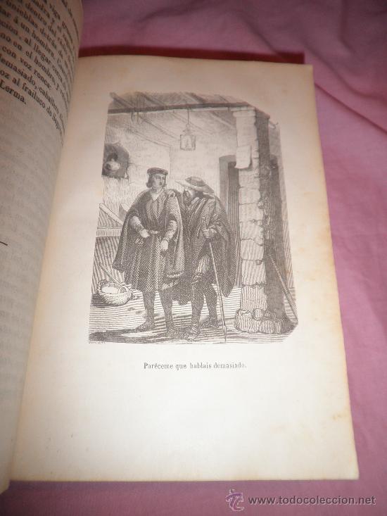 Libros antiguos: JUANA DE CASTILLA Y D.FELIPE EL HERMOSO - D.F.JOSE ORELLANA - AÑO 1856 - BELLOS GRABADOS. - Foto 5 - 31780555
