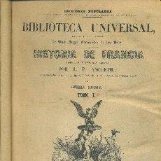 Libros antiguos: BIBLIOTECA UNIVERSAL-HISTORIA DE FRANCIA DESDE LOS TIEMPOS MAS REMOTOS-CONTINUADA …(TOMO I,II Y III). Lote 31798804