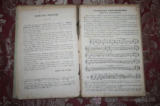 Libros antiguos: 1581- 'SOLFÈGE DES SOLFÈGES' PAR A. DANHAUSER EDITEURS DE MUSIQUE LEMOINE & FILS - Foto 3 - 31876145