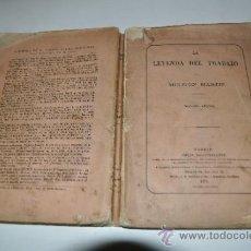 Libros antiguos: LA LEYENDA DEL TRABAJO MELITÓN MARTÍN RA10386. Lote 31883431