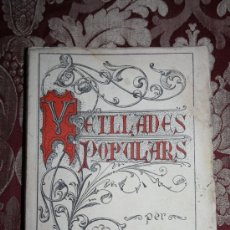 Libros antiguos: 1580- 'VETLLADES POPULARS' PER MN. ELADI PARÉS BORI ANY MCMXXXIV TARRAGONA. Lote 31887419