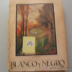 Libros antiguos: BLANCO Y NEGRO 1927 . Lote 32065617