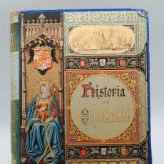 Libros antiguos: HISTORIA GENERAL DE ESPAÑA TOMO I CARLOS IV CÁNOVAS DEL CASTILLO ED EL PROGRESO 1892 ACADEMIA Hª. Lote 31907451
