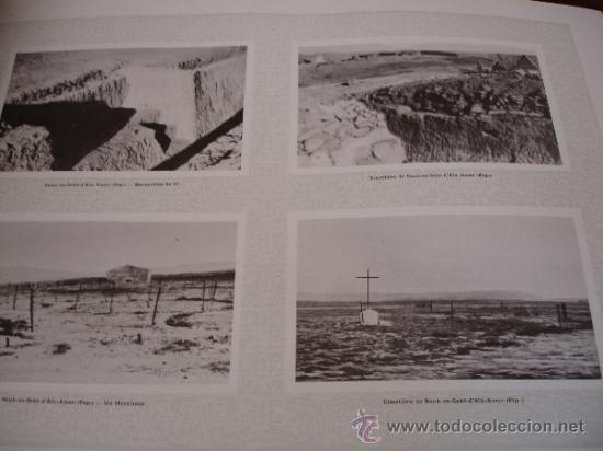 Libros antiguos: GUERRA DE MARRUECOS DEL RIF 1925 (Henry Clerisse: La Guerre du Rif et la Tache de Taza) - Foto 3 - 32008186