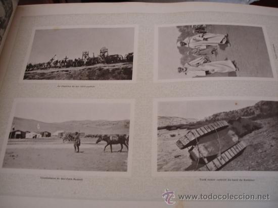 Libros antiguos: GUERRA DE MARRUECOS DEL RIF 1925 (Henry Clerisse: La Guerre du Rif et la Tache de Taza) - Foto 6 - 32008186