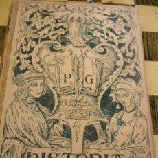 Libros antiguos: HISTORIA DE LA LITERATURA, POMPEYO GENER, MOTANER Y SIMON, 1902, EDICIÓN MODERNISTA ILUSTRADA. Lote 32008272