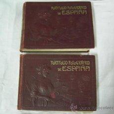 Libros antiguos: 2 LIBROS PORFOLIO FOTOGRAFICO DE ESPAÑA - PARTIDOS JUDICIALES DE CORDOBA Y HUELVA - CON 384 FOTOS. Lote 32048041