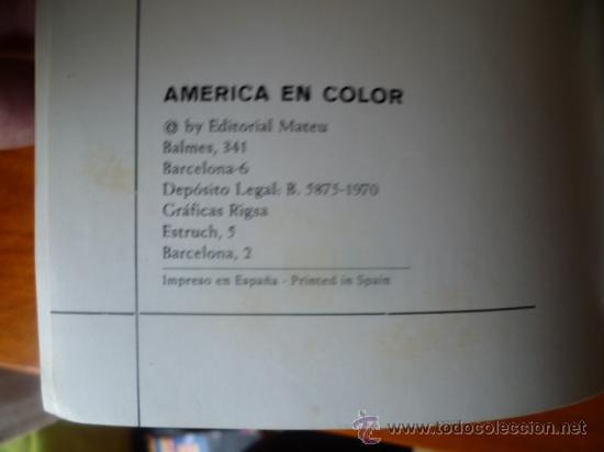 Libros antiguos: America en Color - Mexico-Estados Unidos / 2 tomos, historia, arte, paisaje, cultura, folklore. - Foto 3 - 32103580