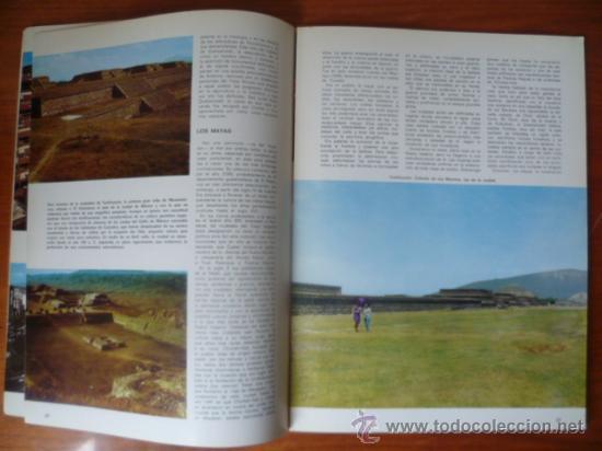 Libros antiguos: America en Color - Mexico-Estados Unidos / 2 tomos, historia, arte, paisaje, cultura, folklore. - Foto 5 - 32103580
