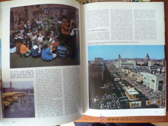 Libros antiguos: America en Color - Mexico-Estados Unidos / 2 tomos, historia, arte, paisaje, cultura, folklore. - Foto 8 - 32103580