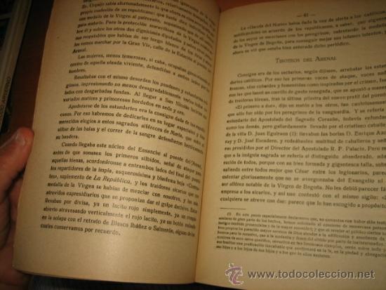 Libros antiguos: BODAS DE PLATA DE LA JORNADA SANGRIENTA PERO GLORIOSA PARA EL CATOLICISMO EN BILBAO 11.10.1903 - Foto 6 - 32105430