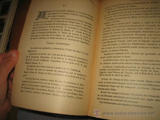 Libros antiguos: BODAS DE PLATA DE LA JORNADA SANGRIENTA PERO GLORIOSA PARA EL CATOLICISMO EN BILBAO 11.10.1903 - Foto 7 - 32105430