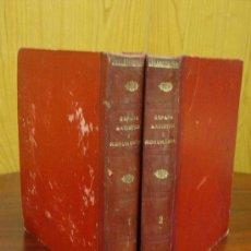 Libros antiguos: ESPAÑA ARTISTICA Y MONUMENTAL. 2 TOMOS. S/F. C1920.. Lote 32111744