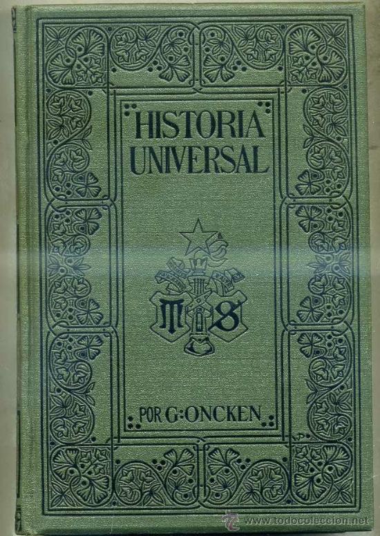 ONCKEN : Hª UNIVERSAL 46 - ÍNDICES ALFABÉTICOS DE TODA LA OBRA (MONTANER & SIMON, 1934) (Libros Antiguos, Raros y Curiosos - Historia - Otros)