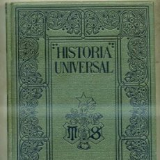 Libros antiguos: ONCKEN : Hª UNIVERSAL 46 - ÍNDICES ALFABÉTICOS DE TODA LA OBRA (MONTANER & SIMON, 1934). Lote 32142659