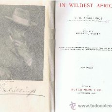 Libros antiguos: IN WILDEST AFRICA. Lote 32236291