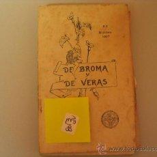 Libros antiguos: EL PURGATORIO Y SUS LECCIONESDE BROMA Y DE VERAS 19176 €. Lote 32675900