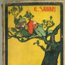 Libros antiguos: EMILIO SALGARI : LA COSTA DE MARFIL TOMO I (CALLEJA, TAPA BLANDA). Lote 32353541