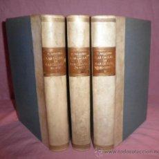 Libros antiguos: LAS CALLES DE BARCELONA EN 1865 - VICTOR BALAGUER - AÑO 1888.. Lote 32397060