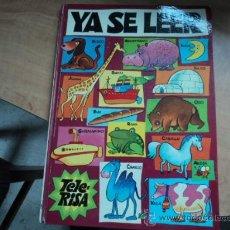 Libros antiguos: YA SÉ LEER; EDITORIAL BRUGUERA. 1975 RICARDO OLIVÁN. Lote 32447871