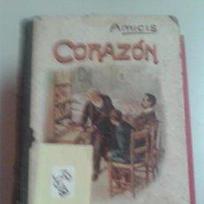Libros antiguos: CORAZÓN DIARIO DE UN NIÑOH GINER DE LOS RIOS1910. Lote 32976825